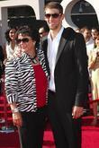 Michael Phelps, mother Deborah Phelps and Espy Awards