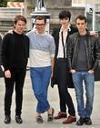 Erin O'connor, Christopher Kane, Erdem and Marios Schwab