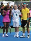 Serena Williams, John McEnroe and Rafael Nadal The...