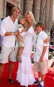 Gena Lee Nolin, Husband Cale Hulse, Her Sons Spencer Fahlman and Hudson