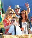 Nicola Roberts and Glastonbury Festival
