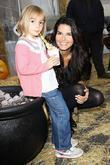Angie Harmon and Finley Faith Sehorn