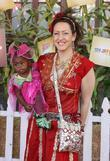 Joely Fisher and daughter Luna Fisher Camp Ronald...