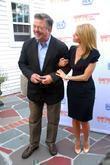 Alec Baldwin and Cheryl Hines