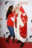 Heather Tom and Santa Claus
