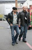 A. J. McLean of the Backstreet Boys
