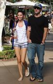 Brody Jenner, Jayde Nicole go shopping at the Aple store in Hollywood