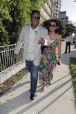 Jermaine Jackson and Halima Rashid