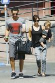 Jessica Alba, with husband Cash Warren and daughter Honor Marie Warren