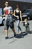 Jessica Alba, with husband Cash Warren, daughter Honor Marie Warren