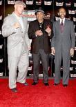 Johnny Brenden, Joe Jackson, Mayor Rudy Clay Of Gary and Indiana