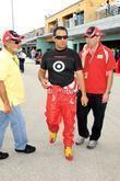 Juan Pablo Montoya (no. 42 Target Chevrolet) At The Homestead-miami Speedway To Practice For The Upcoming Nascar Sprint Cup Series