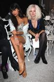 Jameela Jamil and Portia Freeman 25th anniversary London...
