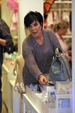 Kris Jenner Shopping At A Baby Store In West Hollywood With Her Daughter Whilst Filming Their Reality Show 'keeping Up With The Kardashians'