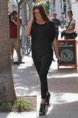 Khloe Kardashian shopping with her sister in Beverly Hills