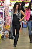 Pregnant Kourtney Kardashian and Kourtney Kardashian