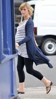 A Heavily Pregnant Kate Garraway