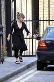 Kate Garraway Returns Home With Her Children Darcy