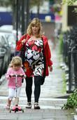 A Heavily Pregnant Kate Garraway Goes For A Stroll With Her Mother