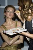 Kate Moss and Tyra Banks