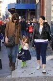 Katie Holmes, daughter Suri Cruise and step-daughter Isabella Cruise