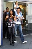 Katie Price, Aka Jordan, Boyfriend Alex Reid and Son Junior
