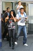 Katie Price, aka Jordan, boyfriend Alex Reid, son Junior