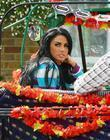 Katie Price aka Jordan filming on location in...