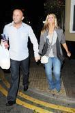 Kerry Katona and Husband Mark Croft Carrying Take Away Food From A Kebab Shop After Leaving The Nolans After Show Party