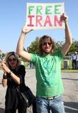 Los Angeles Iranian Protest Rally Held At The La Federal Building