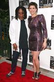 Whoopi Goldberg and Liz Gardner