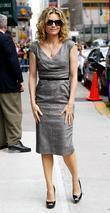 Michelle Pfeiffer and David Letterman