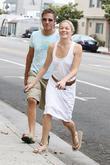 LeAnn Rimes and a friend pick up coffee in Santa Monica