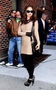 Eliza Dushku and David Letterman