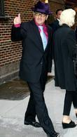 Elvis Costello and David Letterman