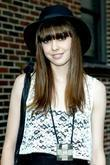 Diane Birch and David Letterman