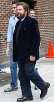 Zach Galifianakis and David Letterman