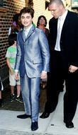Daniel Radcliffe, David Letterman and Ed Sullivan Theatre