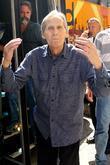 Levon Helm, David Letterman and Ed Sullivan Theatre