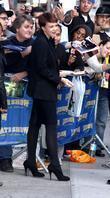 Carey Mulligan, David Letterman