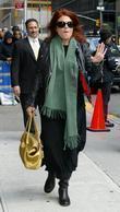 Rosanne Cash and David Letterman