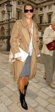 Tracy Emin attends London Fashion Week held at...