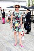 Kathy Lette attends London Fashion Week held at...