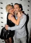 Sarah Harding and Mark from Next Models 25th...