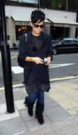 Lily Allen outside the Radio One studios London,...