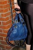 Lindsay Lohan's purse and Lindsay Lohan