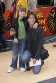 Andrea McLean and her son Finlay