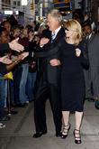 David Letterman and Madonna