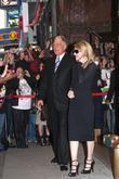 David Letterman and Madonna
