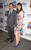Jonny Lee Miller and his wife Michele Hicks